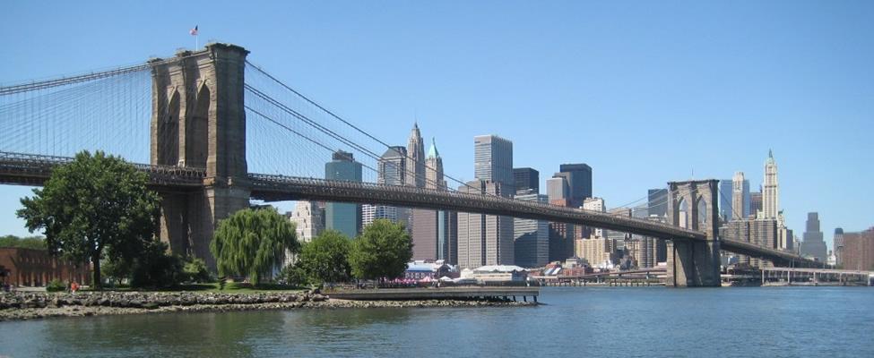 Gratis bezienswaardigheden in New York: Brooklyn Bridge | Mooistestedentrips.nl