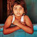 Girl. Mattancherry, India