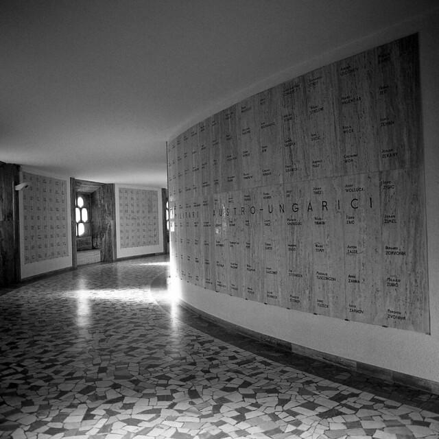 WW1 Memorial  - Rovereto - January 2017