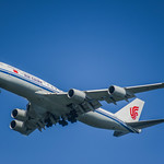air china flight 985 arriving from beijing
