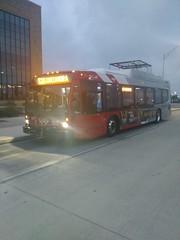 VIA Metropolitan Transit Novabus 537