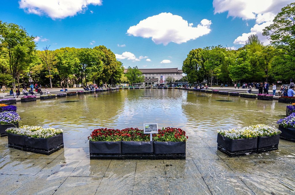 Tokyo National Museum fountain