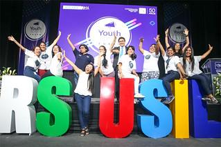 El Youth Speak Forum, uno de los más destacados espacios de reflexión y acción juvenil a nivel internacional se realizó este fin de semana en las instalaciones de la Universidad San Ignacio de Loyola, en el marco de los actos celebratorios por sus 50 años como emprendimiento educativo que cumple la USIL.