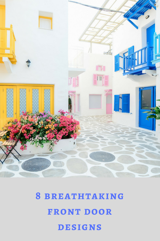8 Breathtaking Single Front Door Designs You Ll Be Eager To Peek In