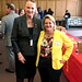 Rep. McCarty with constituent Rachel Deane at McDonald's Day on April 26, 2018 at the Capitol. Mrs. Deane owns several McDonald's restaurants and is their Connecticut Government Relations Chair.