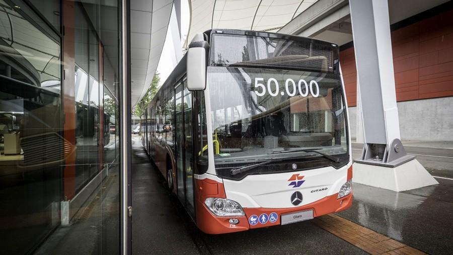 Mercedes Citaro Viena 50000