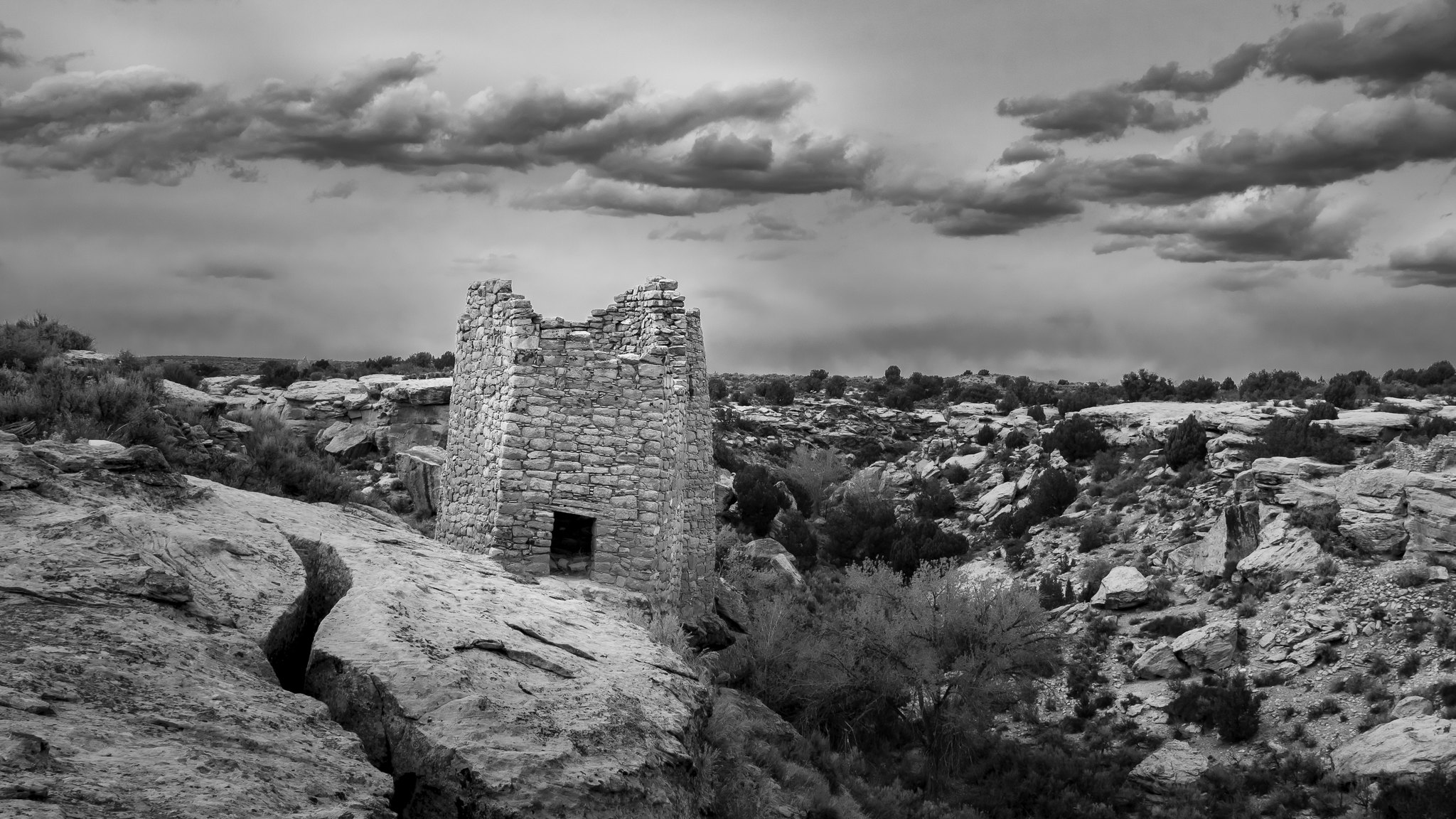 Hovenweep National Monument Rechercher dans Google Maps - Utah - [USA]