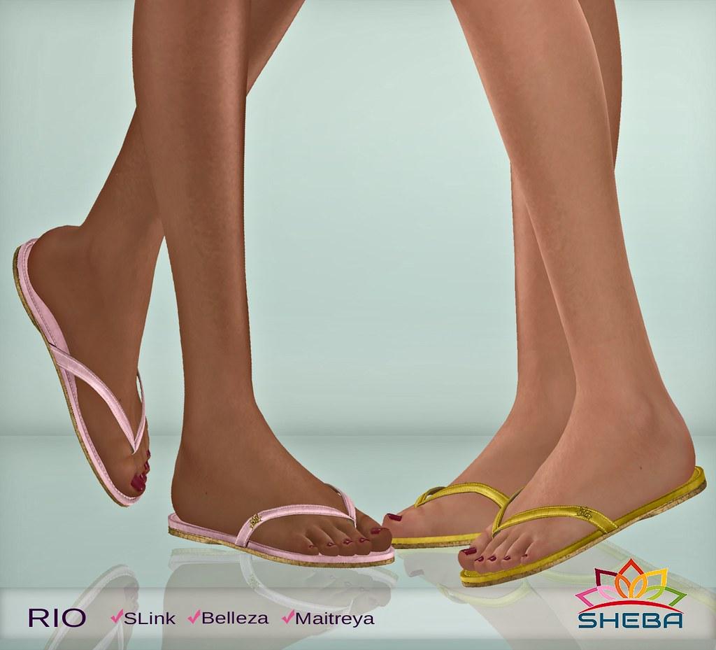 [Sheba] Rio Flip flops