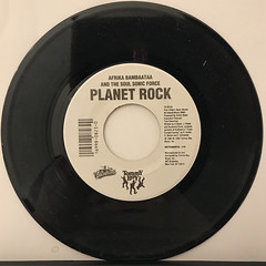 AFRIKA BAMBAATAA AND THE SOUL SONIC FORCE:PLANET ROCK(RECORD SIDE-B)