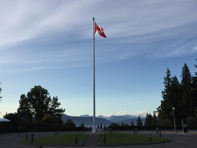 UBC Canada flag