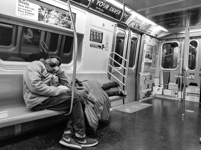 Sleep | NYC subway