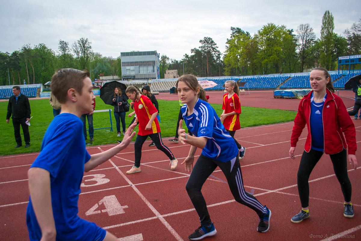 Фотографии. Школьная легкоатлетическая лига