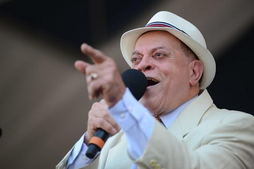 Deacon John on Day 2 of Jazz Fest - 4.28.18. Photo by Leon Morris.