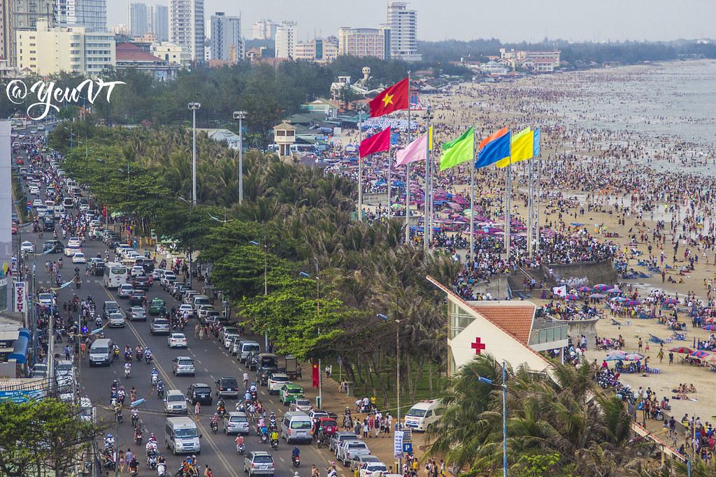 """""""Ngày Quốc tế làm sạch bờ biển năm 2018"""" tại Vũng Tàu"""