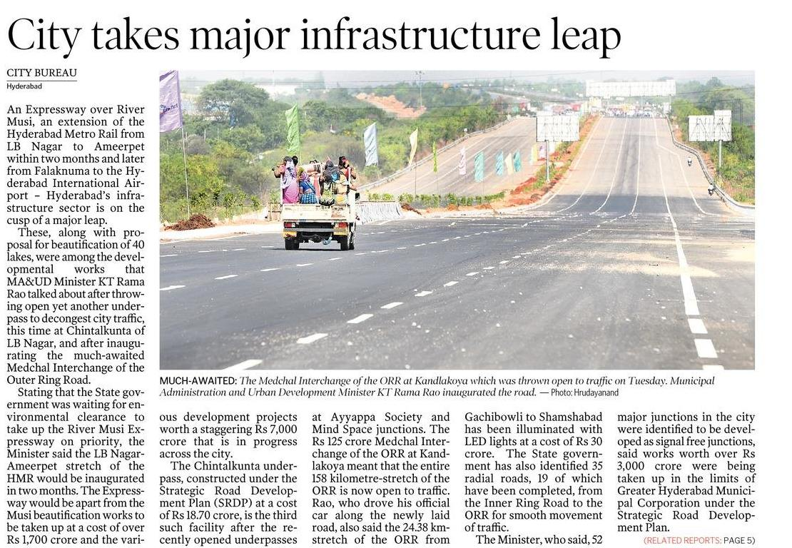 Hyderabad Roads & Flyovers - Page 105 - SkyscraperCity