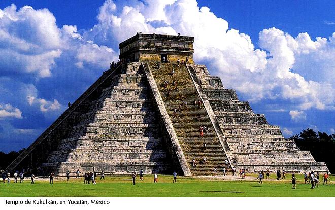 Templo de Kukulkán, Yucatán, México