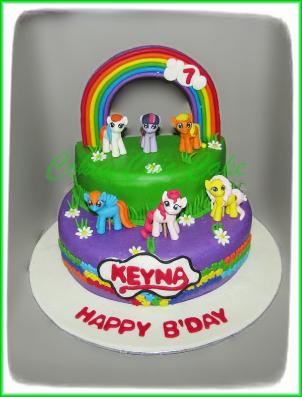 Cake My Little Pony KEYNA 24 cm