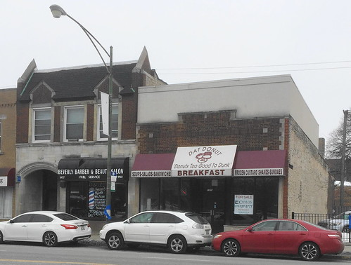 Beverly Barber & Beauty Salon and Dat Donut (Closed)