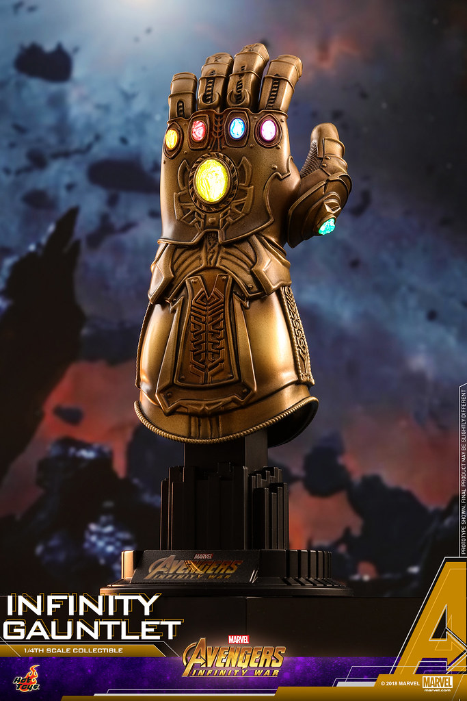 Hot Toys - ACS003 - 《復仇者聯盟:無限之戰》1/4 比例 無限手套 Avengers: Infinity War 1/4th scale Infinity Gauntlet