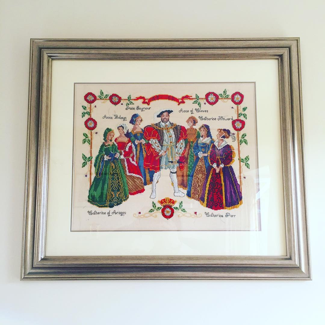 Henry VIII Cross Stitch