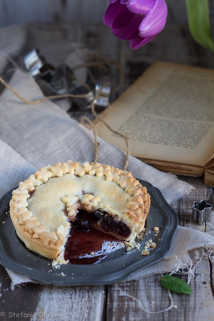 crostata alle ciliegie senza glutine cherry pie-9494