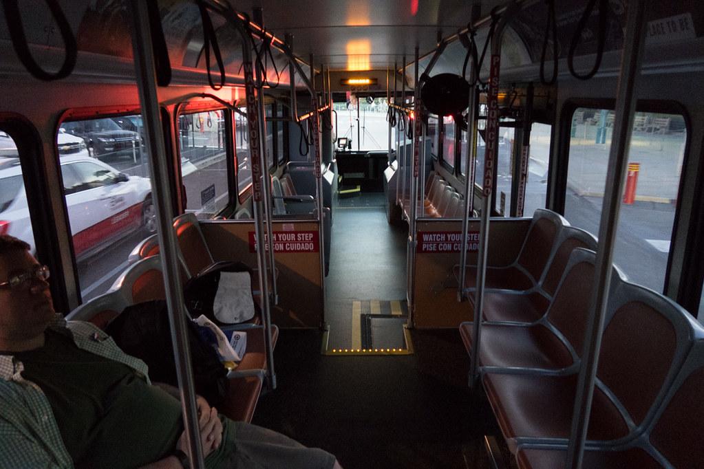 Empty bus at Magic Kingdom