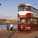 Edinburgh Tram 35 , evening , at the GGF. Aug'88 by David Christie 14