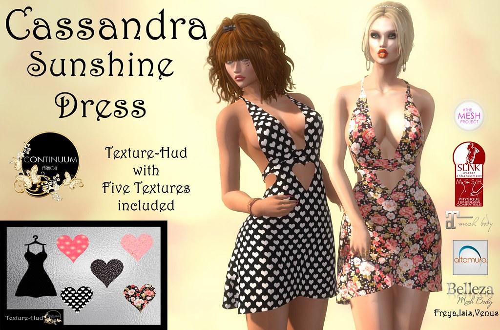 Continuum Cassandra Sunshine - TeleportHub.com Live!