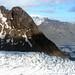 5. Vista aérea de uno de los glaciares de Islandia