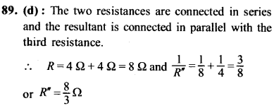 NEET AIPMT Physics Chapter Wise Solutions - Current Electricity explanation 89