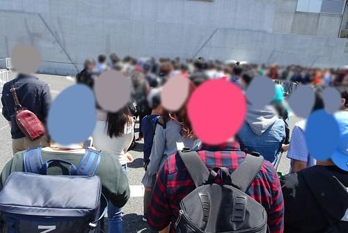 ニコニコ当日の混雑~入り口からの入場