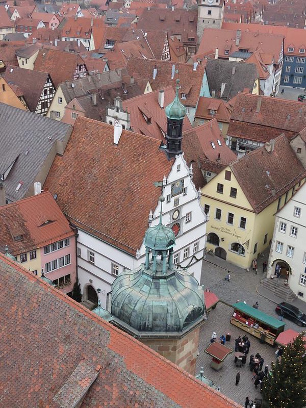 Aussicht von Rathausturm auf Ratstrinkstube<br /> IMG_8060