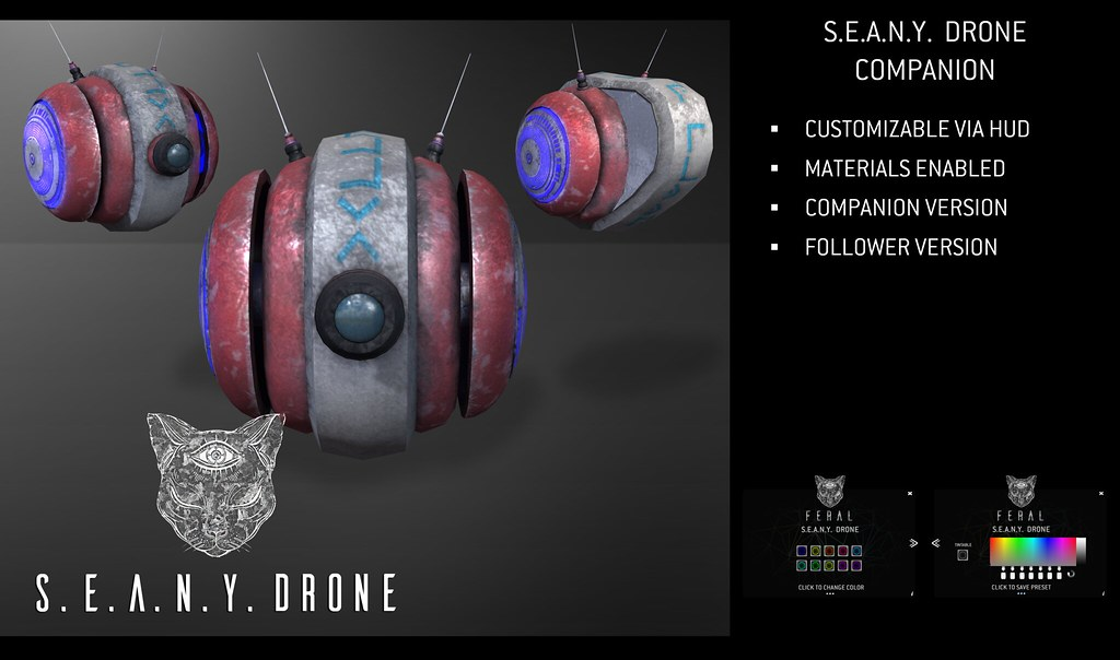 Feral – S.E.A.N.Y. Drone