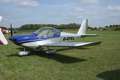 G-CFEL Evektor EV-97 (PFA 315-14740) Popham 040514