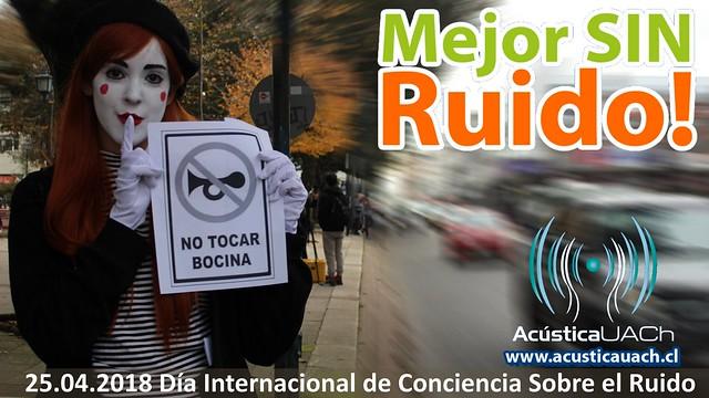 INAD Día Internacional de Conciencia Sobre el Ruido 2018