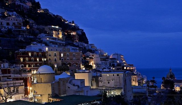 Night in Positano