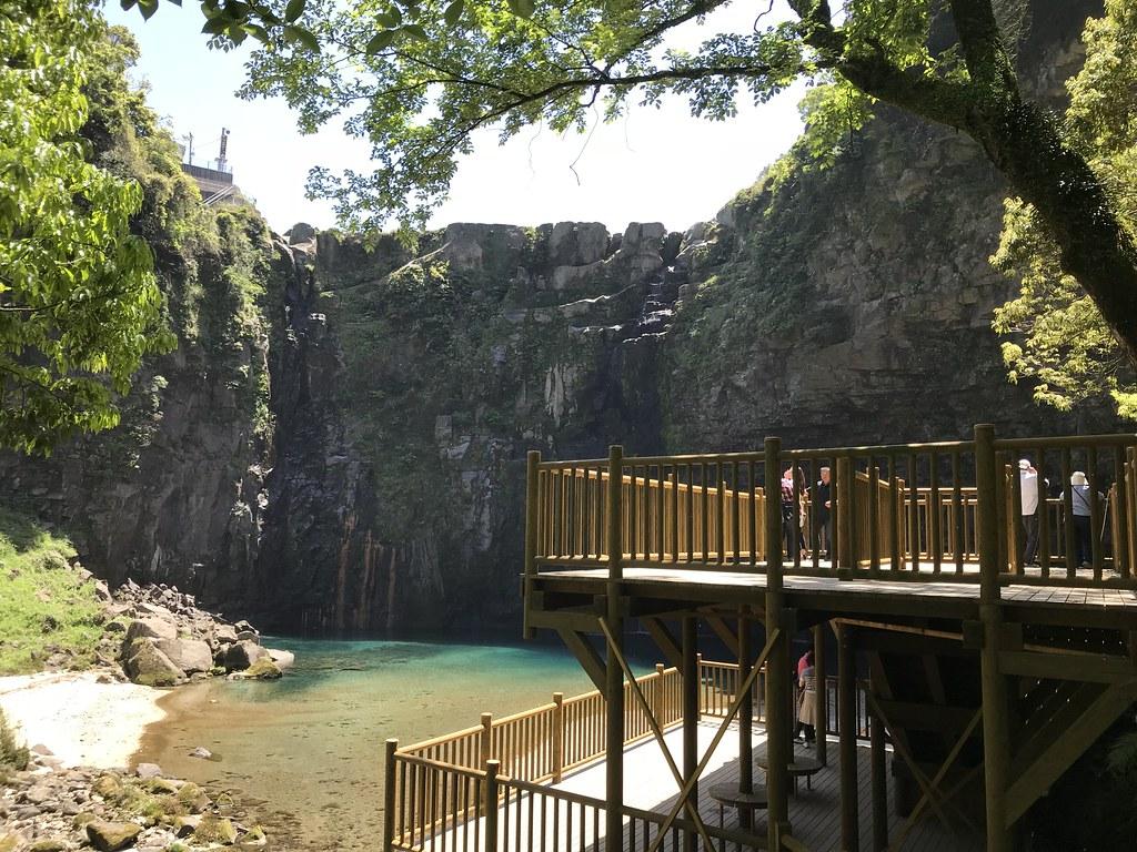 雄川の滝(と物見台)