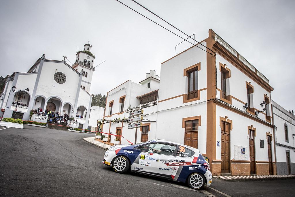36 WAGNER Simon, WINTER Gerald, Sainteloc junior team, Peugeot 208 R2, action during the 2018 European Rally Championship ERC Rally Islas Canarias, El Corte Inglés,  from May 3 to 5, at Las Palmas, Spain - Photo Gregory Lenormand / DPPI