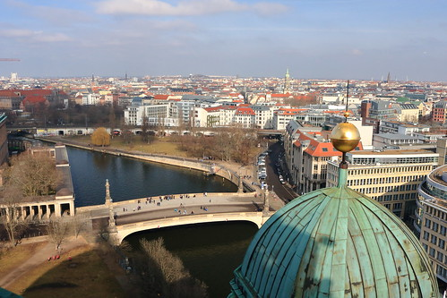 View from Berlin Cathedral, Germany