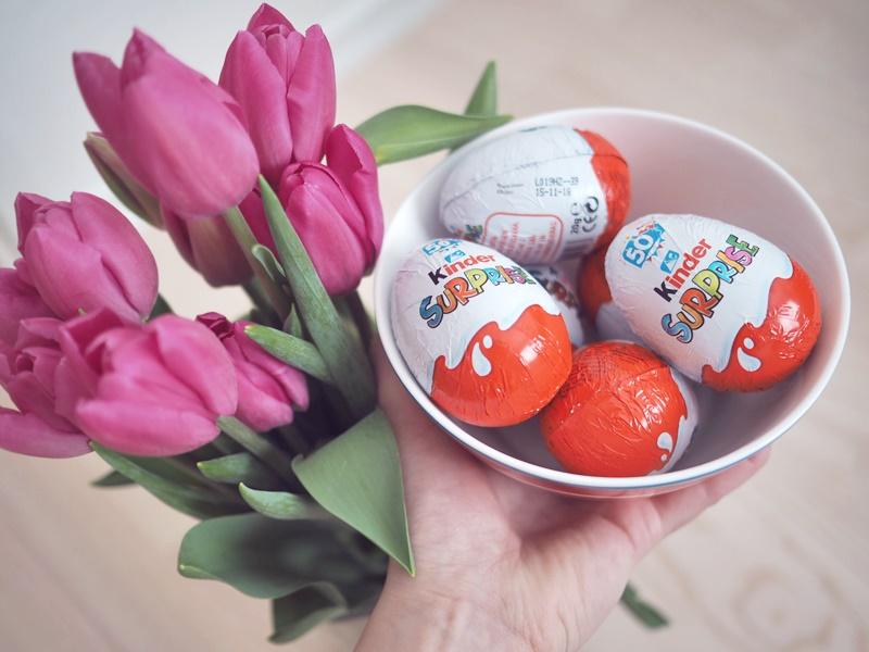 kinder pääsiäinen tulppaanit
