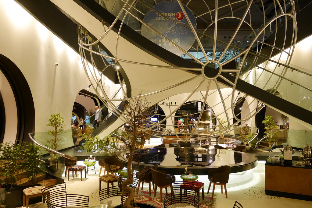土航CIP Lounge下層