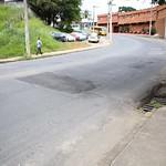 qui, 12/04/2018 - 08:01 - Visita Técnica para avaliar fissuras entre ponte e o asfalto no bairro Betânia - 12/04/2018 - Local: Rua Úrsula Paulino, próximo ao número 200 Foto: Bernardo Dias/CMBH