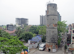 Semaphore Tower, near Prabartak Jute Mill