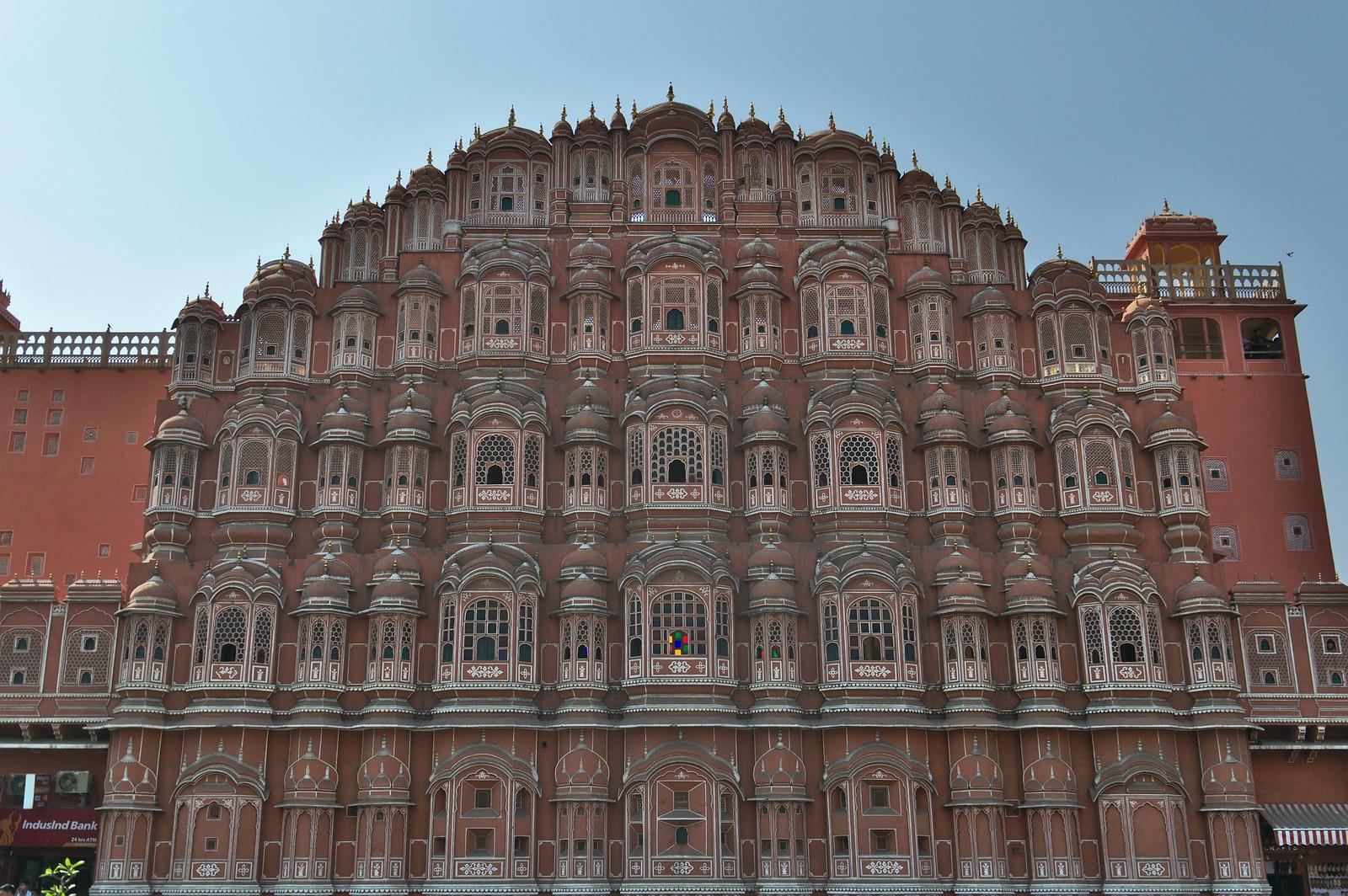 Hawa Mahal - 50 de los lugares más bellos de Asia