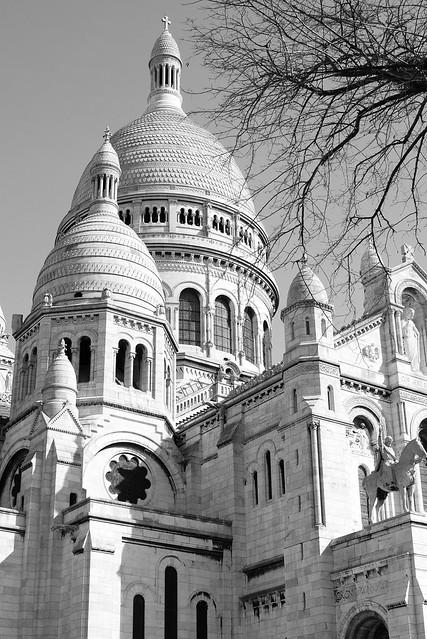 Sacré-Coeur, Paris, April 18
