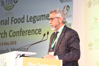 Sun, 05/06/2018 - 09:17 - Rachid Dahan, Deputy Director General of INRA, addresses the International Food Legumes Research Conference.