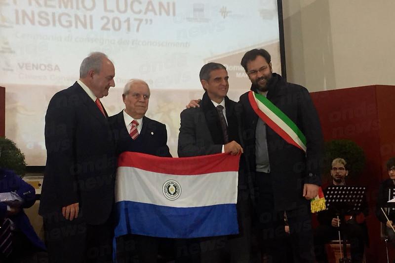 Vincenzo-Scavone-onoreficenza-Lucani-Insigni-VENOSA
