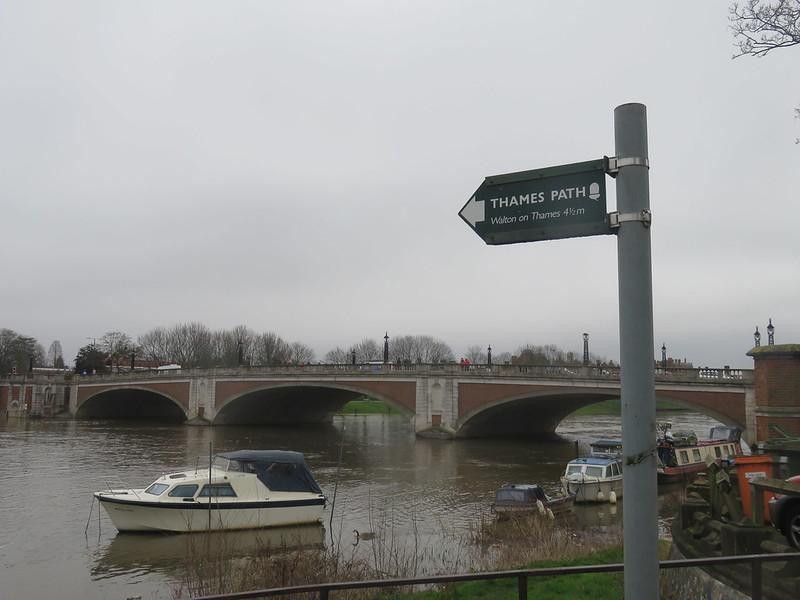 Thames Path - Hampton Court to Weybridge