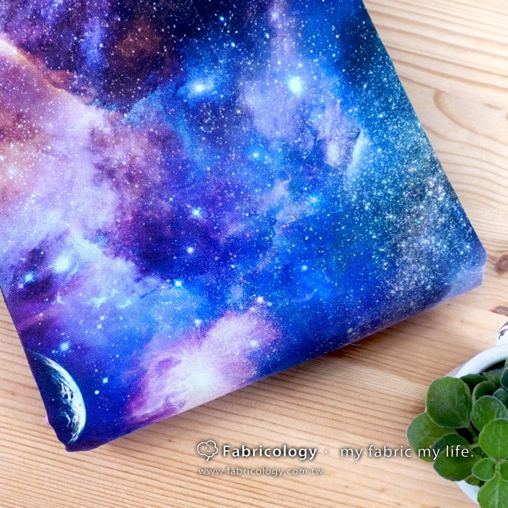 布學盒裝印花布(1y)星空漫遊2 手工藝DIy拼布布料 SW001803-14