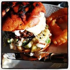 Burgarmiddag! :hamburger:
